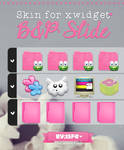 Skin for xwidget Slide Pink