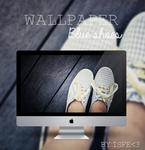 Wallpaper Blue shoes