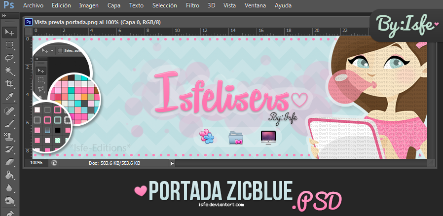 Portada ZicBlue (facebook) by Isfe