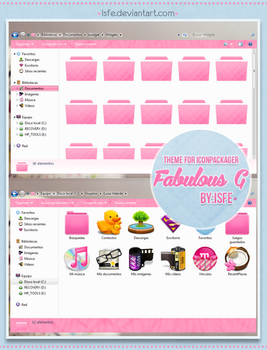 Theme for iconpackager FabulousG