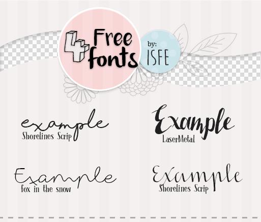 4 free fonts