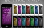 iPix HD Digital Glass Weather Lockscreen - iPhone