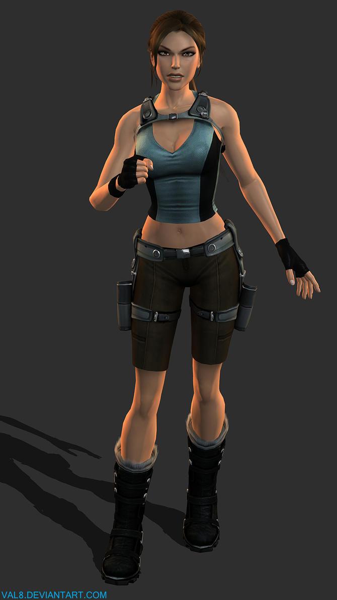 Lara Croft - Fresh Style by Val8