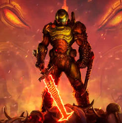 Doom Eternal animation
