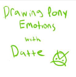 Pony emotions basic tutorial (Flash Tutorial) by Dattebayo681