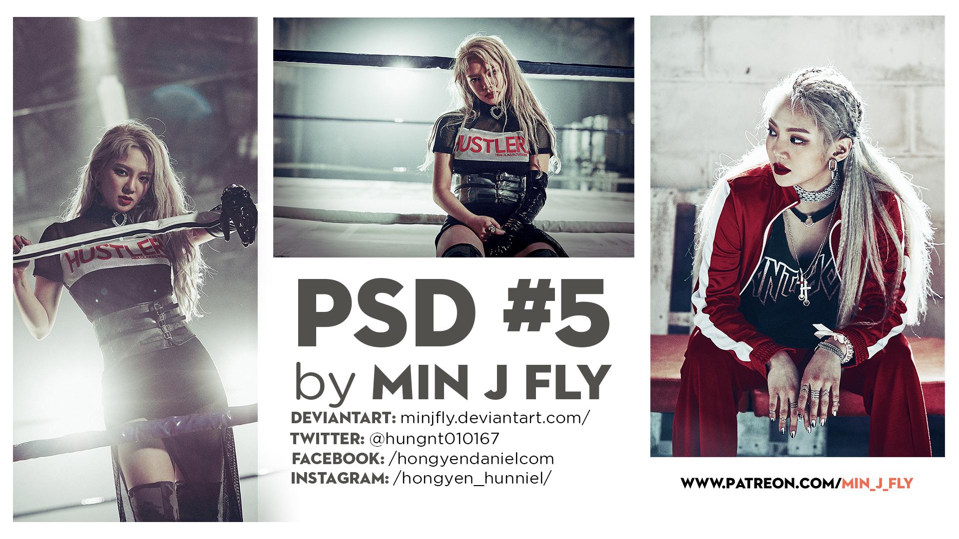 PSD #5 - SNSD ( HYOYEON )