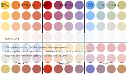 Limited Palette Template by cesca-specs