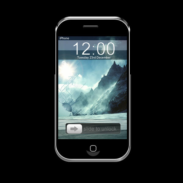 iPhone PSD by Pokehkins