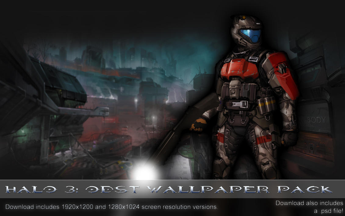 Halo 3: ODST WP Pack by Pokehkins