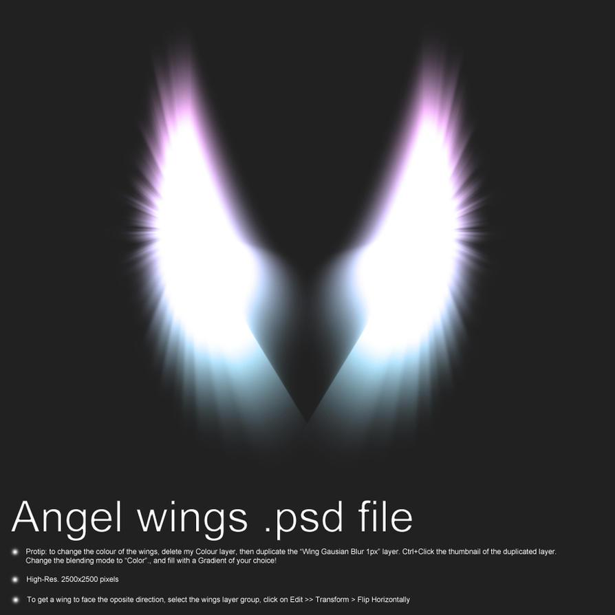 angel wings psd - photo #20