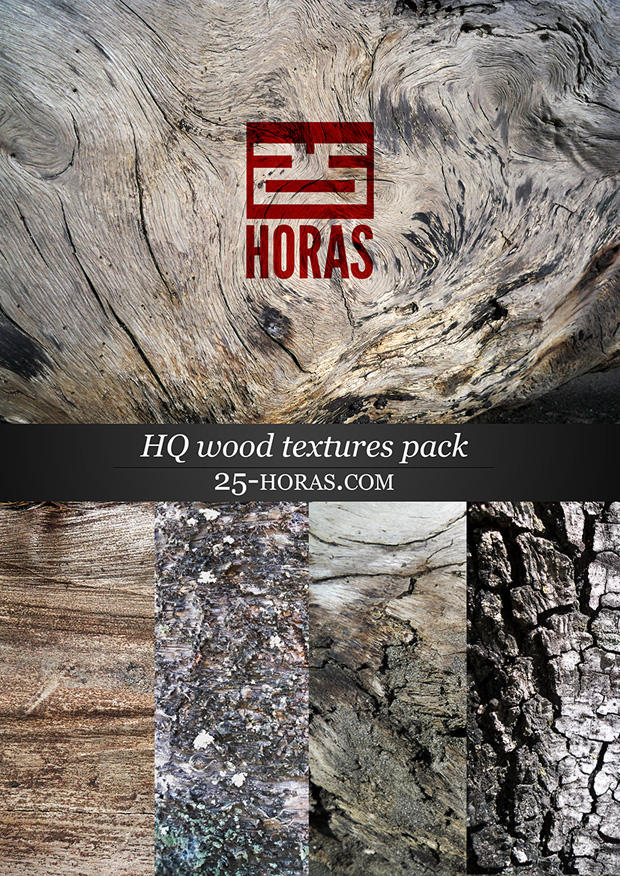 HQ Wood Texture Pack by 25Horas