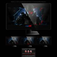 Gamer's Interface Halo 4 pack by Designfjotten