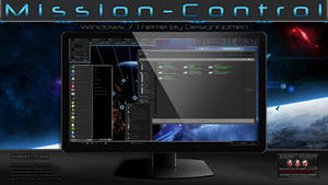 Mission-Control Theme for Win7 By Designfjotten
