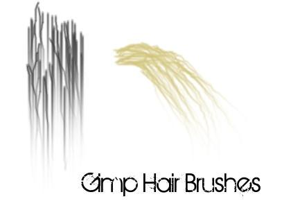 2 Gimp Hair Brushes By Arabellia On Deviantart