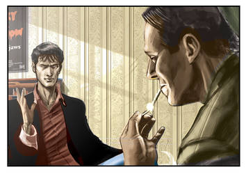 Dylan Dog page WIP gif by cOMIFAB