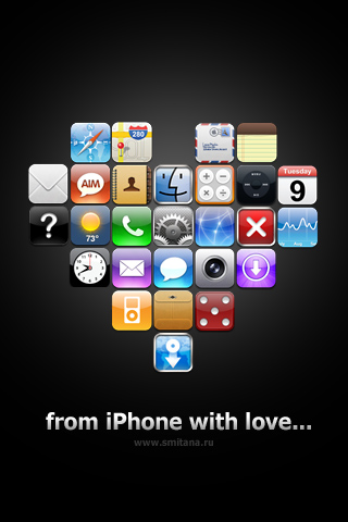 Wallpaper On Iphone Theme By Smitana On Deviantart