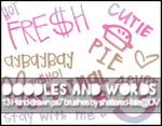 Doodles and Words Brushes