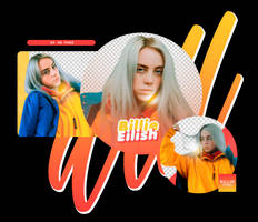 PACK PNG 12 // BILLIE EILISH by BILL3E