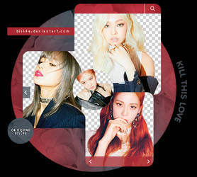 PACK PNG 39 // BLACKPINK (KILL THIS LOVE) by BILL3E