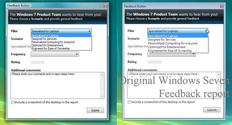 Windows 7 Feedback Report