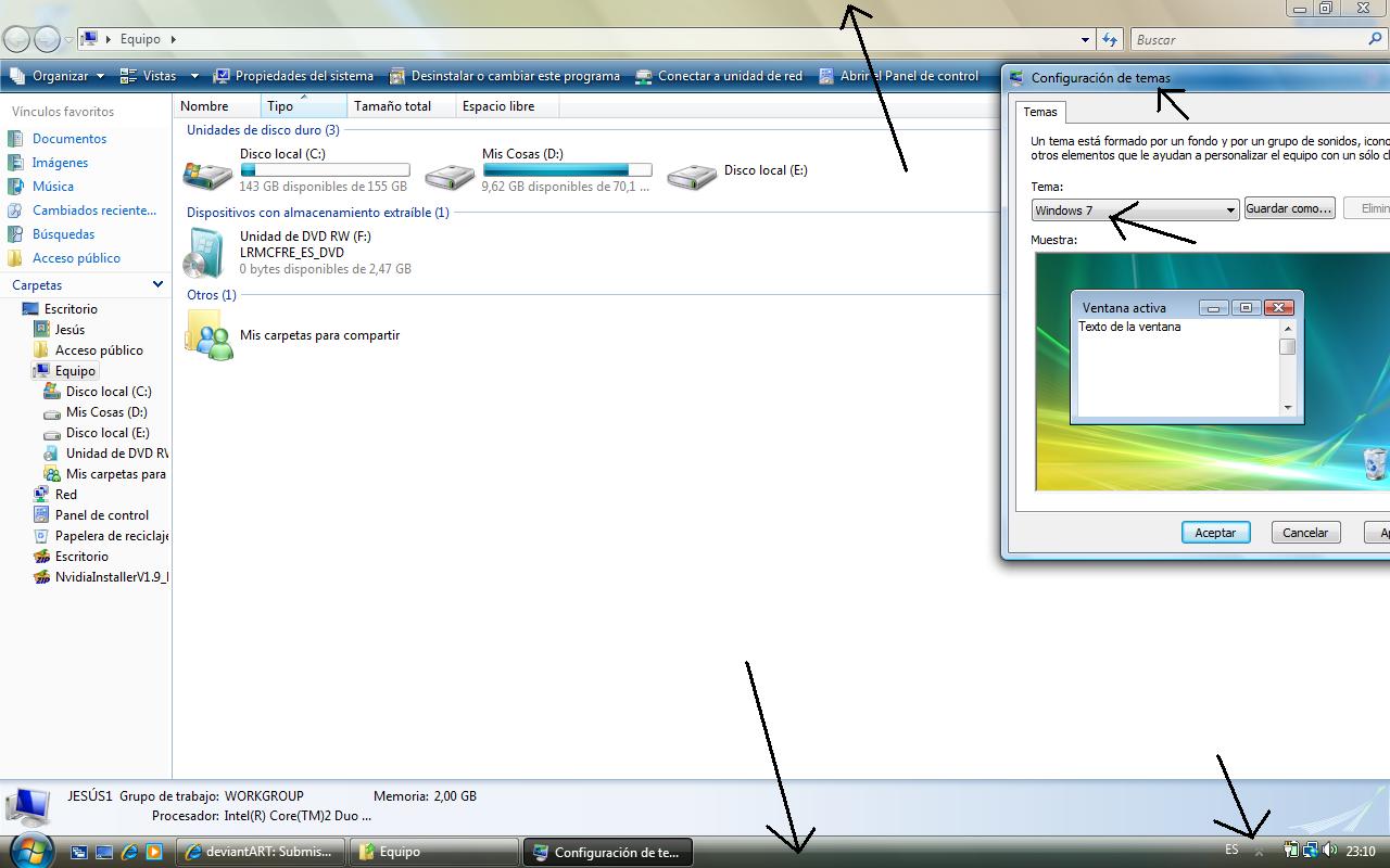 Windows 7 M1 Original Theme by vistaaero