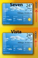 Windows 7 Sidebar Skin by vistaaero