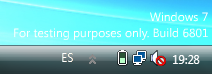Windows 7 M3 6801 Build Tag by vistaaero
