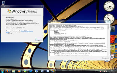 Windows 7 Build 7100 About Box