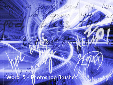 Word 5 - Brushes