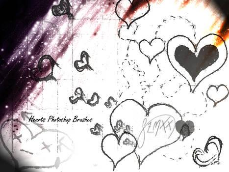 Heart 1 - Brushes