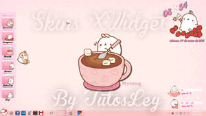 Skins Xwidget Molang by leyfzalley