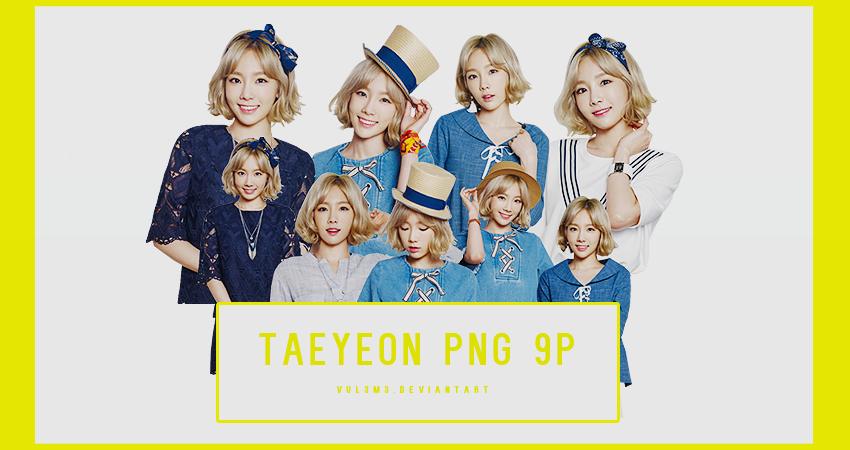 TaeYeon MIXXO 9P PNG by vul3m3