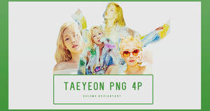 TaeYeon WHY Part4 4P PNG
