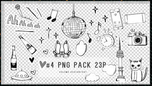 Png Pack #4 23P by Yu