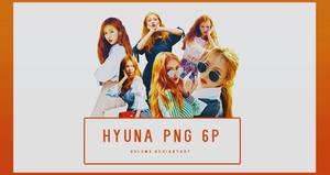 Hyuna GRAZIA 6P PNG
