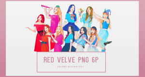 Red Velve Red Room 6P PNG by vul3m3