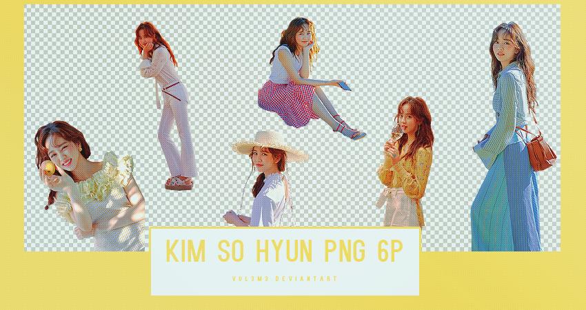 Kim So Hyun Cosmopolitan 6P PNG by vul3m3