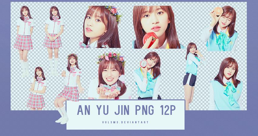 AN YU JIN PRODUCE48 12P PNG by vul3m3