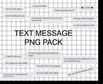 Text Message Png Pack