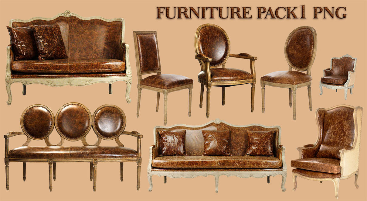 Furniture Pack1 PNG by amir2012