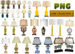 Lamp Collection 1 PNG