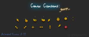 Comix Cursors Orange