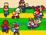 The Clash of Many Marios