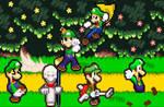 The Ultimate Clash of Luigi