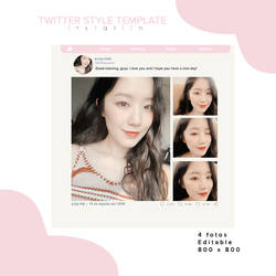 TWITTER STYLE TEMPLATE by itslaliin