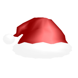 MMD Christmas hat by soujis