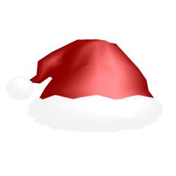 MMD Christmas hat by Ziodyyne