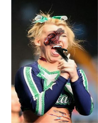 Cheering gone wrong. by nyxlovescookies