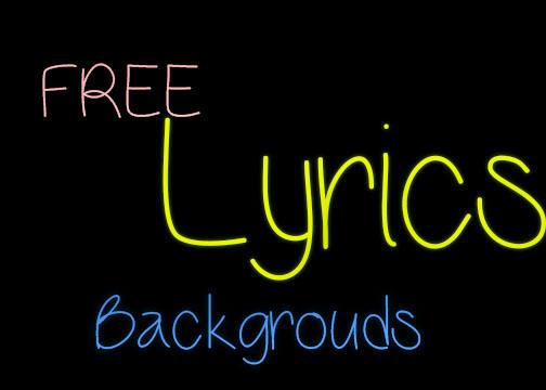Free Lyrics Backgrounds by PixelSmash on deviantART Hilary Duff Lyrics