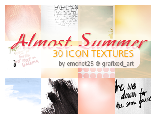 30 icon textures by emonet25 by misssnoopy25